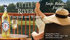 Take a trip just outside Richmond County to the Little River Winery. Set on the historic Summer Duck Farm, the winery not only contains a vineyard and tastings, but they also make appearances at tons of NC events! An amazing place to visit.