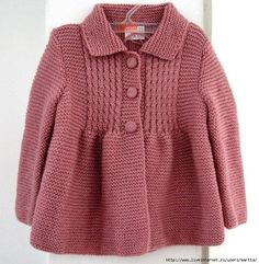 "Marta from liveinternet.ru: I salute you! Gorgeous design. This pattern could be made up in lots of colorways. [ ""Little Princess Coat - super cute with skinny jeans and ballet flats"", ""Marta from liveinternet.ru: I salute you! This pattern could be made up in lots of colorways."" ] #<br/> # #Knitted #Baby,<br/> # #Baby #Knitting,<br/> # #Knitting #Ideas,<br/> # #Baby #Knits,<br/> # #Baby #Patterns,<br/> # #4 #Year #Old #Girl,<br/> # #I #Salute #You,<br/> # #Cardigan #Pattern,<br/> # #..."