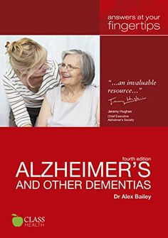 A book aimed at those who may know or care for someone with dementia or those recently diagnosed themself. Carers, family members and friends are all bewildered and confused by what is happening to the person they know. This book aims to give you the information and support to cope with dementia. http://tavi.koha-ptfs.eu/cgi-bin/koha/opac-detail.pl?biblionumber=39691&query_desc=kw%2Cwrdl%3A%20alzheimer%27s%20other%20dementias