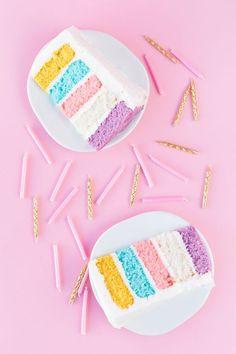 Pastel cake! | http://studiodiy.com