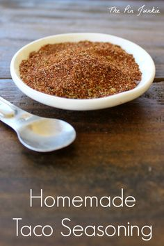 Bonnie's Best Homemade Taco Seasoning on MyRecipeMagic.com