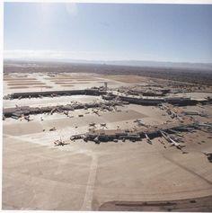 Denver Stapleton International Airport after the 1980's expansion