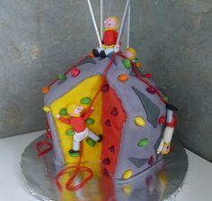 Climbing Wall Birthday Cake, Quedgeley, Gloucester