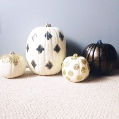 Pin for Later: 13 Glittery Pumpkin Ideas You'll Want to Copy This Halloween