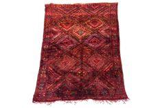 #Vintage Marmoucha Carpet | Vinterior London  #interiors #design #home #woven #fabric #decor #furnishings