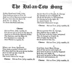 Hal-An-Tow song