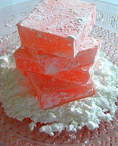 LA CASSEROLE CARRÉE: Loukoums à la rose et à l'orange