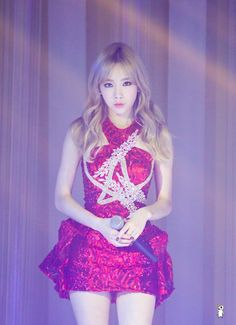 SNSD | Taeyeon | TTS 'Holler' Sub-Unit promotions