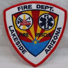 Patches For Sale, Fire Department, Selling On Ebay, Porsche Logo, Ems, Arizona, Fire Dept