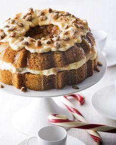Pumpkin-Caramel Cream Cheese Cake - Neiman Marcus