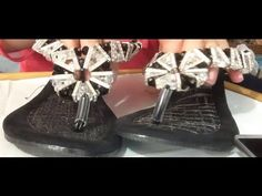 Como hacer sandalias decoradas con cristal. Fácil y rápido - http://cryptblizz.com/como-se-hace/como-hacer-sandalias-decoradas-con-cristal-facil-y-rapido-3/