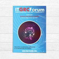 Webinar flyer design IT Forum Graphic Design Services, Flyer Design, Design Projects, Leaflet Design