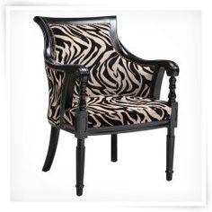 Stein World Zebra Barrel Chair