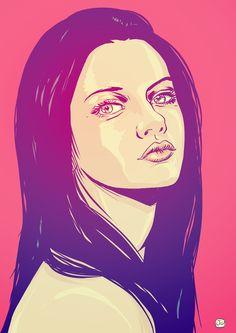 Mila Kunis by Giuseppe Cristiano