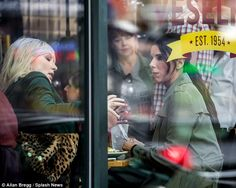 Scenes: The A-Listers were seen looking stunning, on location at Cafe Veselka in East Village Cate Blanchett Films, Ocean's Trilogy, Ocean's Eight, Oceans 8, East Village, Sandra Bullock, Serial Killers, Looking Stunning, Happy Life