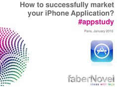 Learn to make a successful iphone app at http://www.slideshare.net/misteroo/how-to-market-your-app?from_search=4