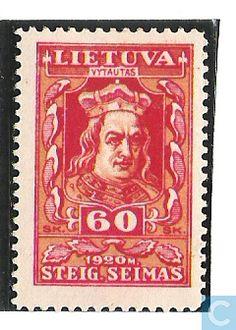 1920 Lithuania - Grand Duke Vytautas