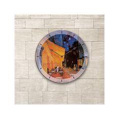 "Oversized 60"" Van Gogh The Night Cafe Wall Clock"