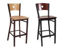 Circle Bar Stool -- http://www.jmcurleys.com/indoor-stools-1.html