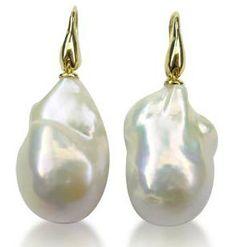 Pearls   Gold   Wedding   Bride   Earrings   Drop Earrings   Jewelry   Eiseman Bridal