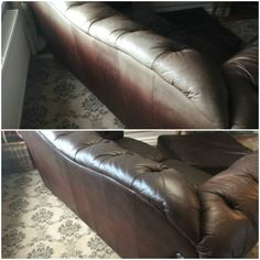 19 best leather couch repair images leather couch fix cleaning rh pinterest com