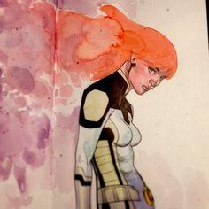 Jean Grey - Phoenix by Mahmud Asrar