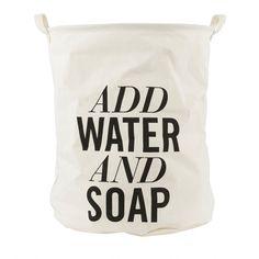 Wäschekorb Add Water And Soap von House Doctor