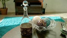 Vintage Italian Decanter with Stopper and brass plated rest. Grapes,wine,liquor, even tea! Beautiful glass bottle vtg 1960's-1970's exc vgc by TrueAmericanPicker on Etsy