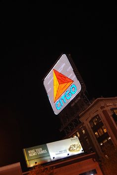 The famous Citgo sign we all love in Boston, Kenmore Square