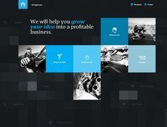 Dark Themed Web Design   42Angels