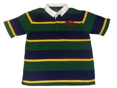 Buy Polo-Ralph Lauren Boys\u0026#39; Big Pony Mesh Short Sleeve Polo-Shirt XL Navy/Green Striped: Shop top fashion brands Polos at ? FREE DELIVERY and Returns ...
