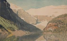 Lake Louise by WJ Phillips