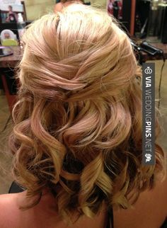 Neat - wedding hairstyles for short hair Bridal updo for short or medium length…