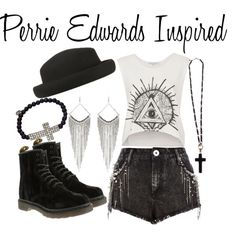 """""""Inspired - Perrie Edwards"""" by one-direction-inspired-outfits on Polyvore"""