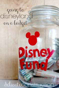 Disneyland on a Budget- tips and tricks on how to get there without touching your bank account!