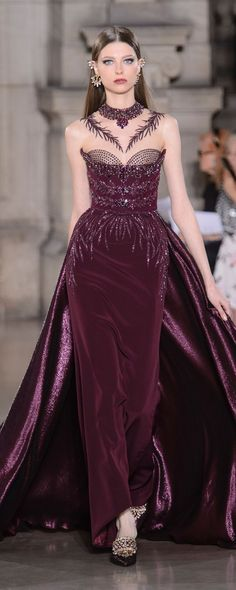Georges Hobeika Fall 2017 Couture Fashion Show - The Impression Georges Hobeika, Style Haute Couture, Couture Mode, Runway Fashion, Fashion Show, Fashion Design, Fall Fashion, Beautiful Gowns, Beautiful Outfits
