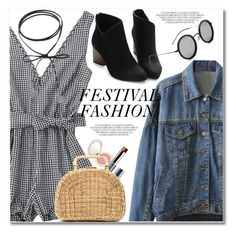 """""""Show Time: Best Festival Trend"""" by svijetlana ❤ liked on Polyvore featuring Jane Iredale, Vapour Organic Beauty, Kayu, festivalfashion and zaful"""
