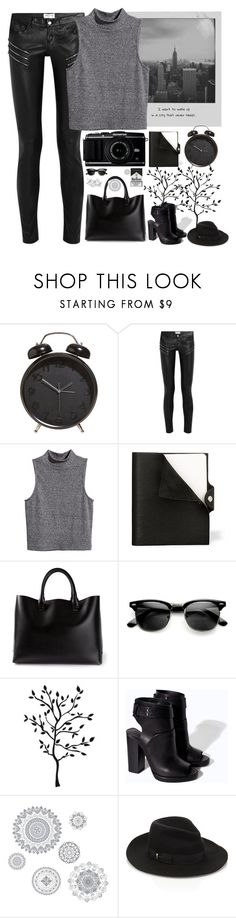"""""""R.I.P. 2 My Youth"""" by aguniaaa ❤ liked on Polyvore featuring Meggie, Yves Saint Laurent, H&M, Hermès, Chloé, Zara, WallPops, Accessorize and Home Decorators Collection"""