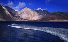 Pangong Lake, Leh, Kashmir