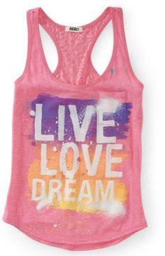 #Aeropostale              #love                     #Live #Love #Dream #Burnout #Yoga #Tank             Live Love Dream Burnout Yoga Tank                                             http://www.seapai.com/product.aspx?PID=340020