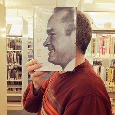 Oh, Those Clever Librarians and Their #Bookface - Brantford made the NY Times! Check out all the great libraries on Instagram