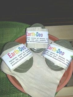 Earth Deo bars - a great alternative to regular manufactured deodorant that has harmful chemicals in it. And this bar has no baking soda in it. Can be purchased in store or online. Deodorant, Peppermint, Baking Soda, Coconut Oil, Natural Remedies, Lotion, Alternative, Earth, Store