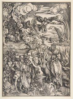 Art in Space: Albrecht Dürer: The Apocalypse - The Whore of Babylon (1498)