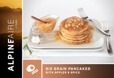 AlpineAire Six Grain Pancakes with Apples & Spice