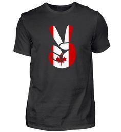 Kanada Peace Hand Geschenkidee WM T-Shirt Sweatshirts, Sweaters, Mens Tops, Fashion, Canada, Presents, Moda, Fashion Styles, Sweater