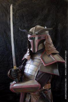 Incredible STAR WARS Boba Fett Samurai Armor — GeekTyrant