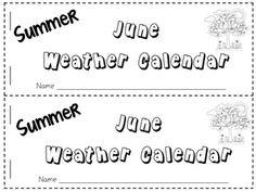 22 Best Weather Calendar Images Preschool Primary School School