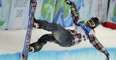 American Snowboarder Shaun White won Gold medals in the Halfpipe competition at Turin, Italy in 2006, and at Vancouver, Canada in 2010. He will attempt a three-peat at the 2014 Olympics in Sochi, Russia