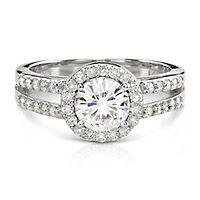 Forever Brilliant Moissanite Jewelry: Engagement Rings & More