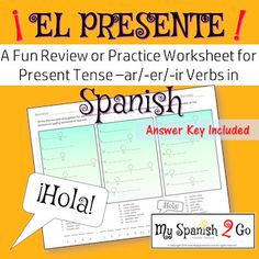preterite tense regular ar er ir verbs a fun practice or review in spanish spanish. Black Bedroom Furniture Sets. Home Design Ideas